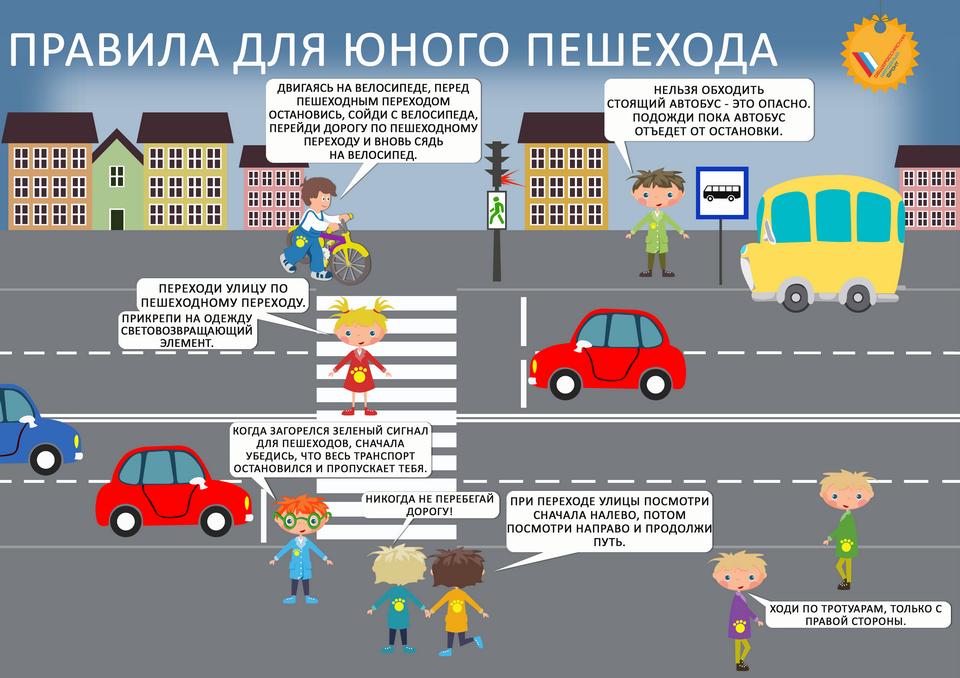 Как научить ребенка безопасно переходить дорогу