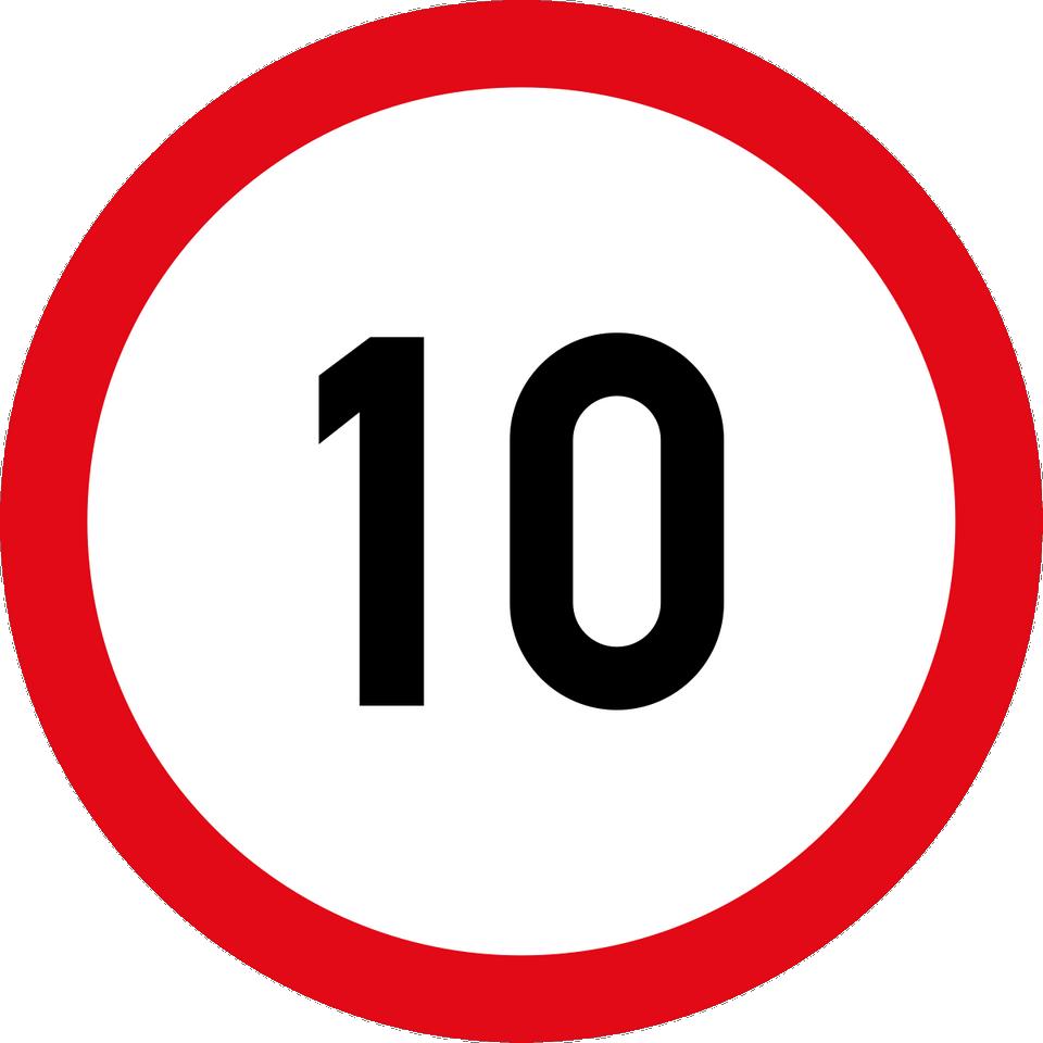 штраф в размере 500 рублей за превышение скоростного режима в диапозоне от 10 до 20 км.ч.