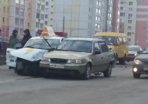 ДТП с участием Яндекс Такси в Магнитогорске