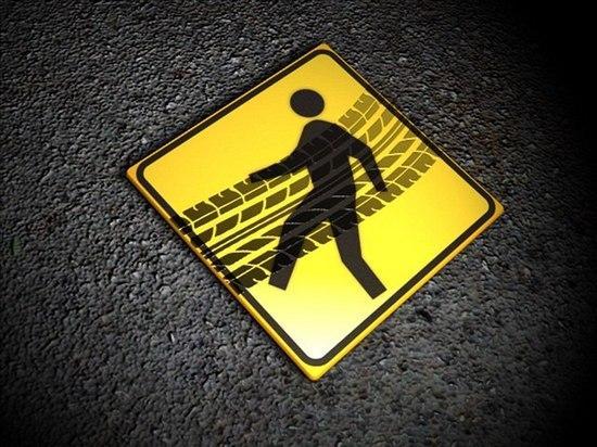 В Магнитогорске задавили пешехода на зебре
