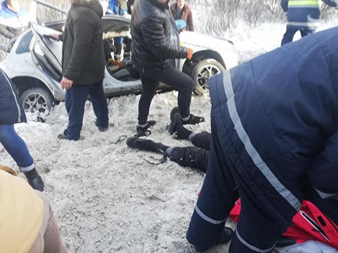 ДТП между Миассом и Чебаркулем 14 февраля.