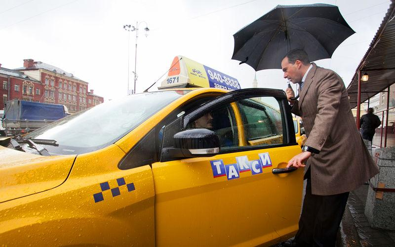 Такси хотят оснастить тахографами