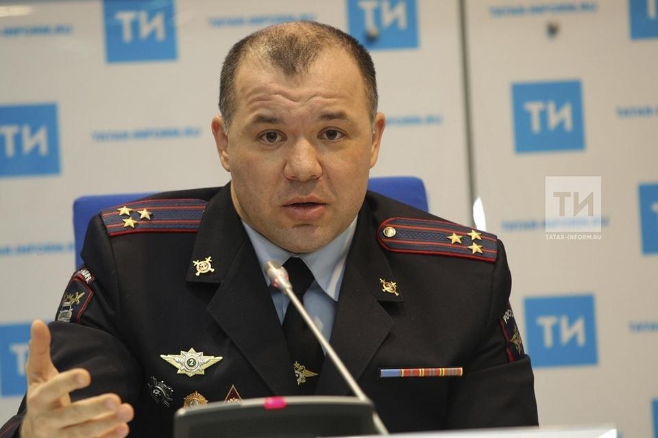 Ленар Габдурахманов - начальник Управления ГИБДД МВД по Республике Татарстан