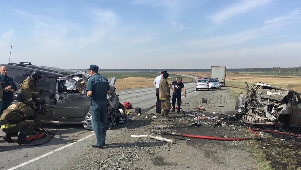 ДТП со смертельным исходом произошло 8 мая на 35 км автодороги Восточный обход города Челябинска